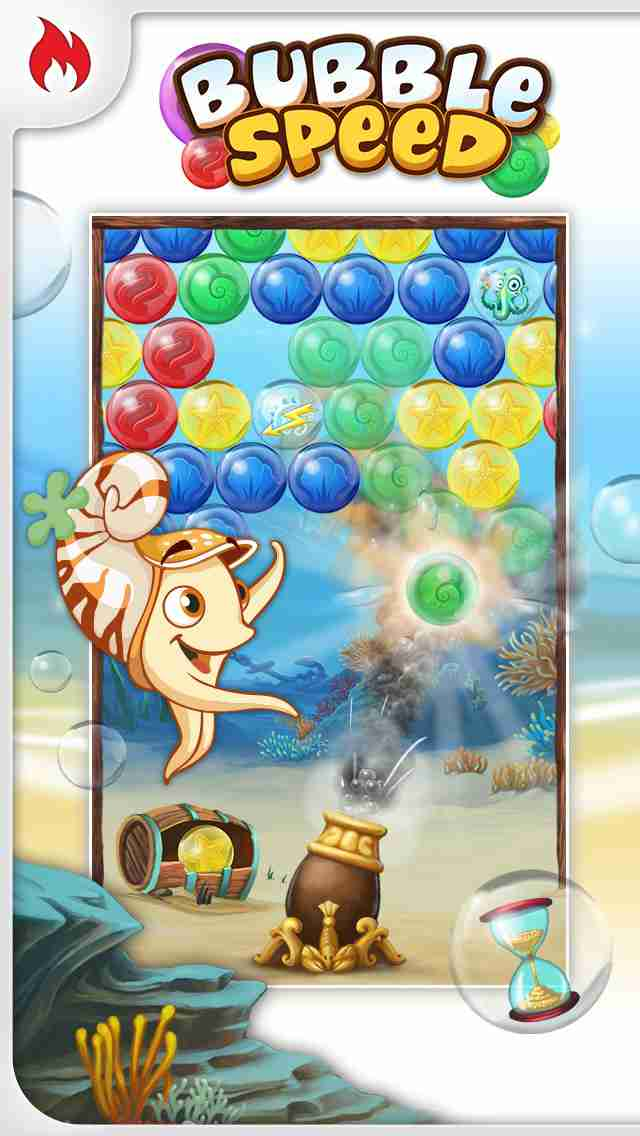 Bubble Speed – Addictive Puzzle Action Bubble Shooter Gameのスクリーンショット - 2