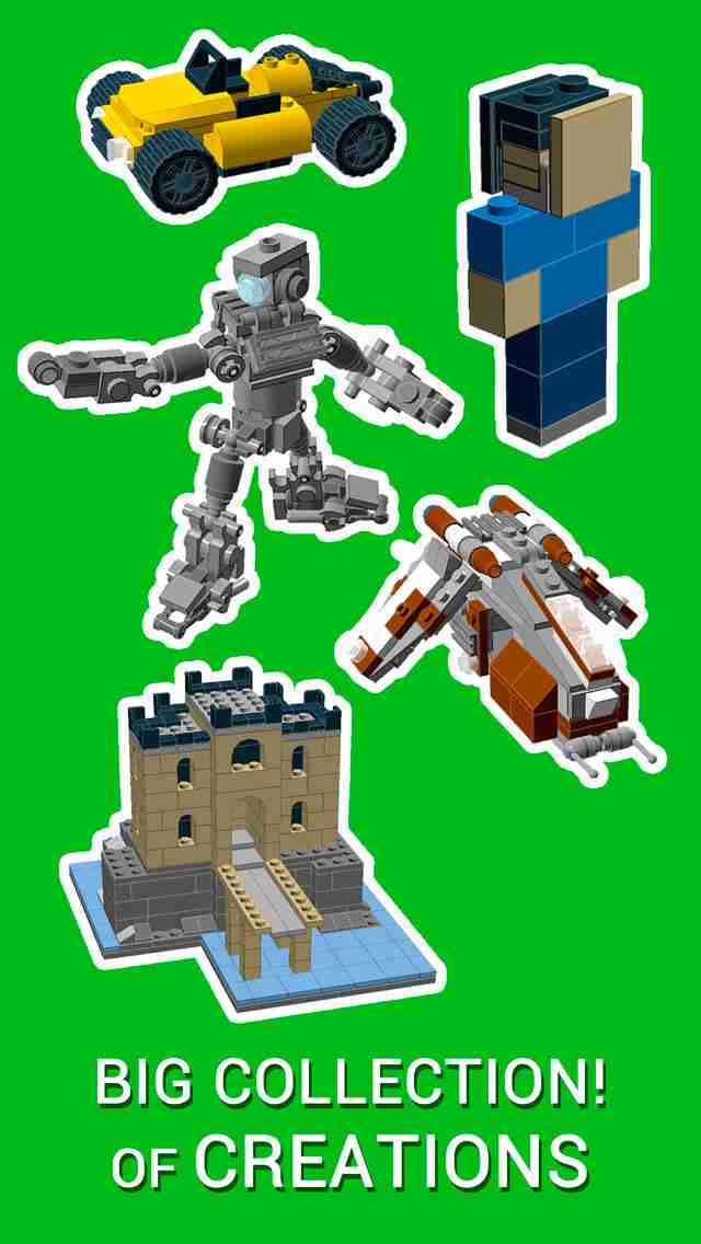 Instructions for LEGO® - How To Build New Super Toys With Your Brick Collection!のスクリーンショット - 13
