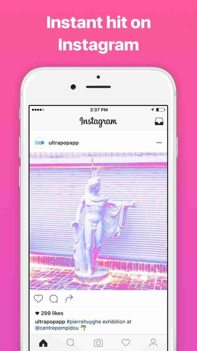Ultrapop - Collection of Artistic Color Filters and Shapes for Contemporary Art Photo Editsのスクリーンショット - 3