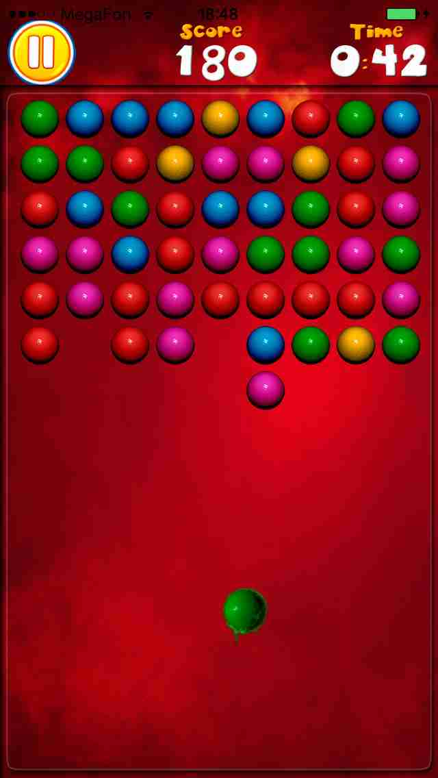 Attack Balls - New Free Bubble Shooter Game (Best Cool & Funny Games For Girls & Kids - Touch Top Fun)のスクリーンショット - 4