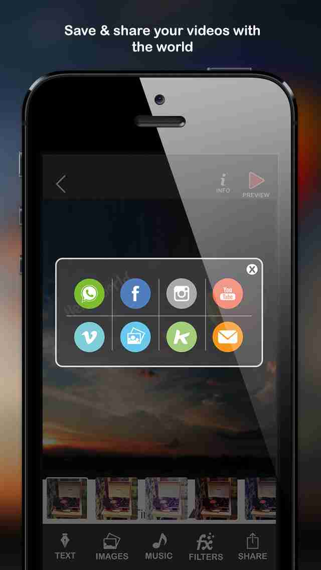 Vira Video Pro - videos maker and movie editor for instagram