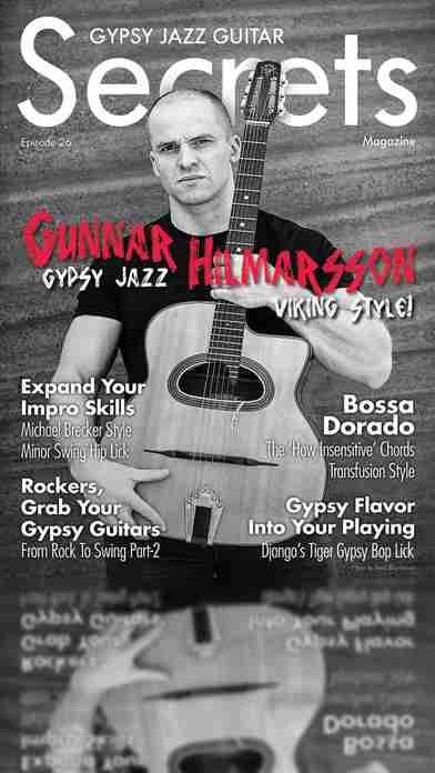 Gypsy Jazz Guitar Secrets Magazine - Learn To Play Guitar Like Django Reinhardtのスクリーンショット - 5