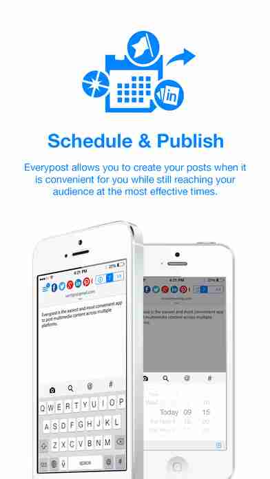 Everypost for Twitter, Facebook & Social Media Schedulingのスクリーンショット - 12