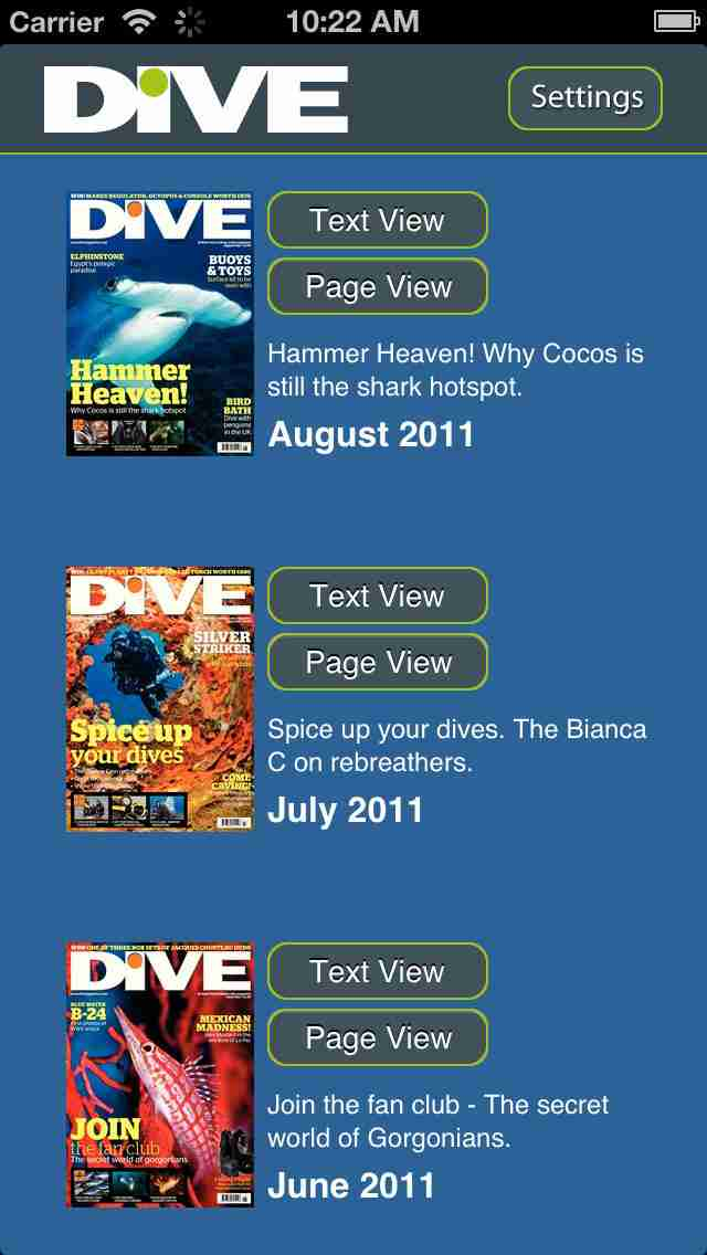 DIVE Magazine – Underwater scuba guides, tips & photography from the sporting world of divingのスクリーンショット - 3