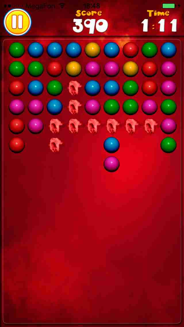 Attack Balls - New Free Bubble Shooter Game (Best Cool & Funny Games For Girls & Kids - Touch Top Fun)のスクリーンショット - 5