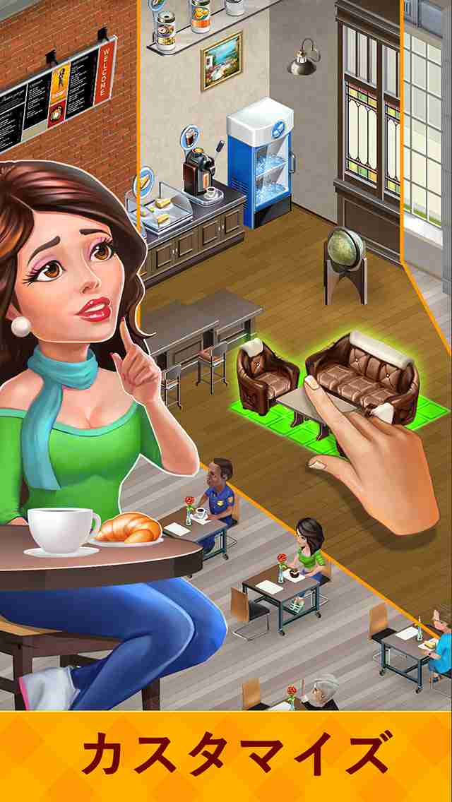 My Cafe: Recipes & Storiesのスクリーンショット - 15