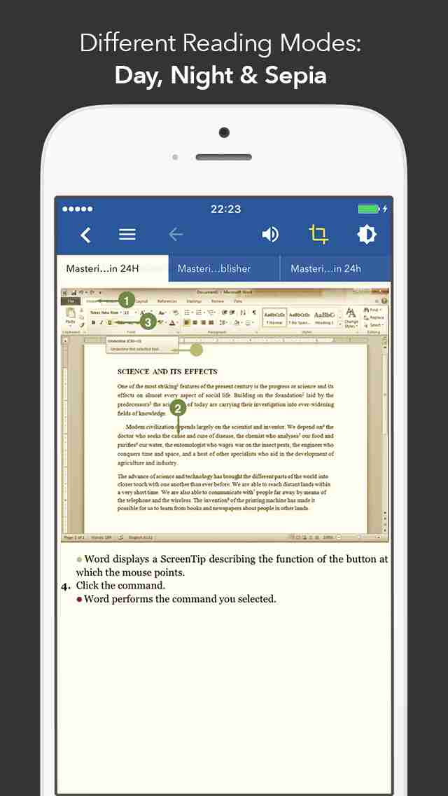 iphone ipad master in 24h for microsoft office word excel