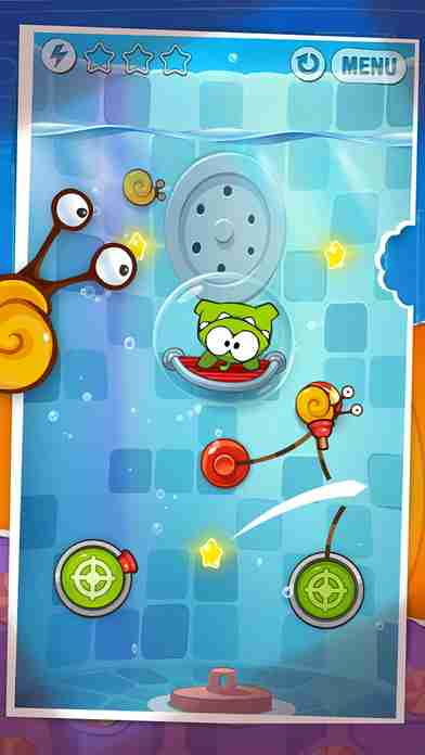 Cut the Rope: Experiments (カット・ザ・ロープ:実験)のスクリーンショット - 5