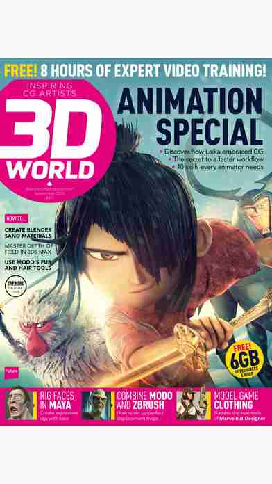 3D World: the CG magazine for animation, VFX and games artistsのスクリーンショット - 20