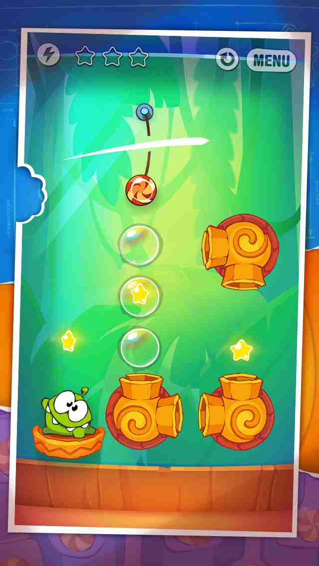 Cut the Rope: Experiments (カット・ザ・ロープ:実験)のスクリーンショット - 6