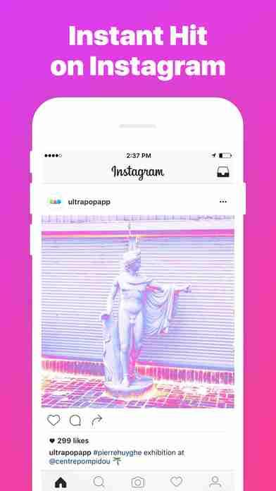 Ultrapop - Collection of Artistic Color Filters and Shapes for Contemporary Art Photo Editsのスクリーンショット - 5