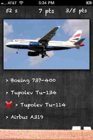 Airplane Quiz - Test Your Passenger Airplane Identification Skillsのスクリーンショット - 2