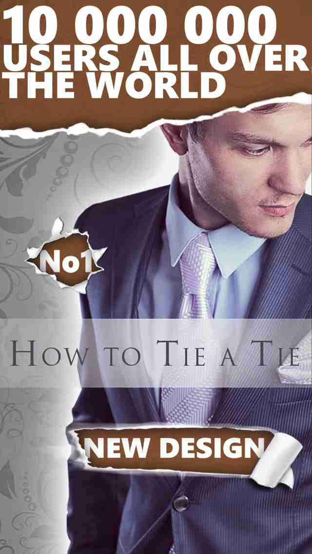 How to Tie a Tie - ネクタイを結ぶための新しい方法を学ぶ