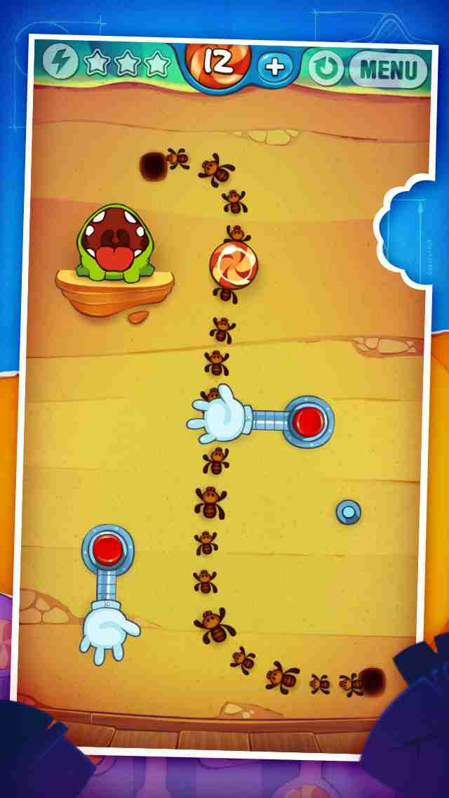 Cut the Rope: Experiments Free (カット・ザ・ロープ:実験)のスクリーンショット - 5