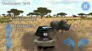 African Rally Race 3D : 4x4 Real Kruger Safari Racingのスクリーンショット - 3