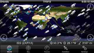 GoSatWatch - Satellite Trackingのスクリーンショット - 8