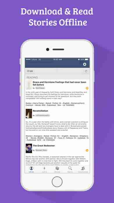 FanFiction Pro - 300,000+ books, ebooks and stories for fiction readersのスクリーンショット - 7