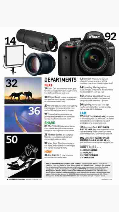 Popular Photography – The leading technical authority, buyer's guide and how-to resource for the photo enthusiast.のスクリーンショット - 30