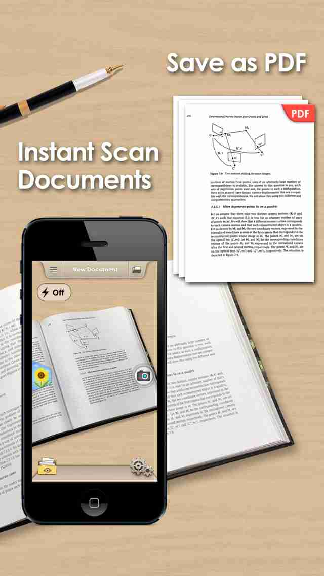 Doc Scan - Scanner to Scan PDF, Print, Fax, Email, and Upload to Cloud Storagesのスクリーンショット - 9