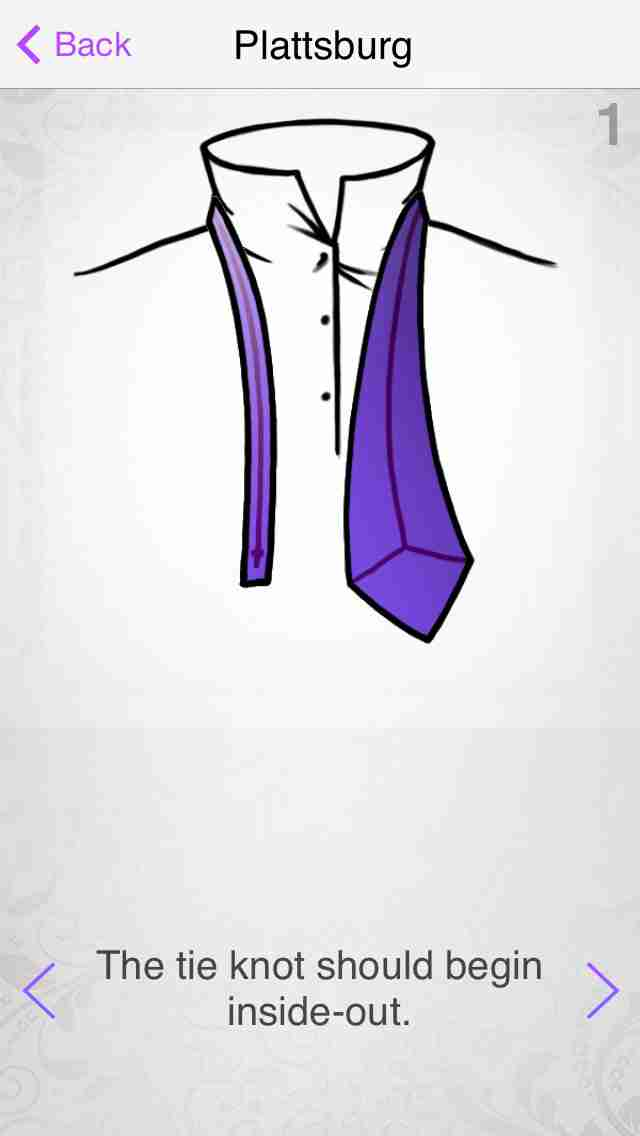 How to Tie a Tie - ネクタイを結ぶための新しい方法を学ぶのスクリーンショット - 2