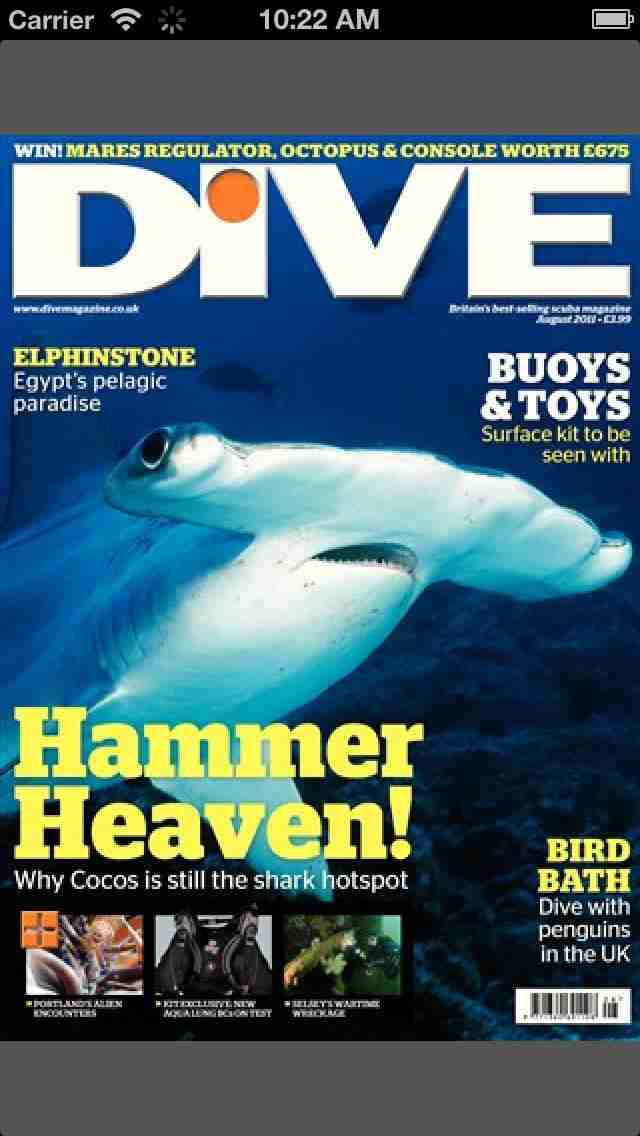 DIVE Magazine – Underwater scuba guides, tips & photography from the sporting world of divingのスクリーンショット - 5