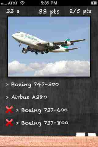Airplane Quiz - Test Your Passenger Airplane Identification Skillsのスクリーンショット - 3