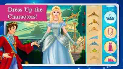 Cinderella Fairy Tale Dress Up and Storybook HDのスクリーンショット - 3