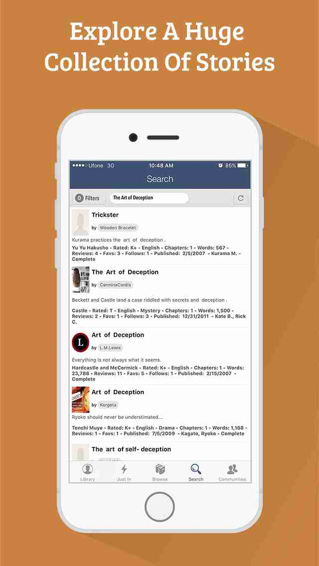 FanFiction Pro - 300,000+ books, ebooks and stories for fiction readersのスクリーンショット - 8