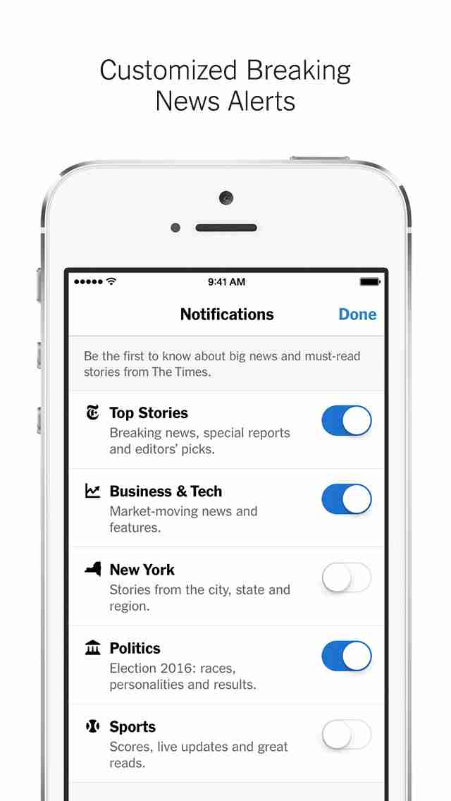 NYTimes – Breaking Local, National & World Newsのスクリーンショット - 6