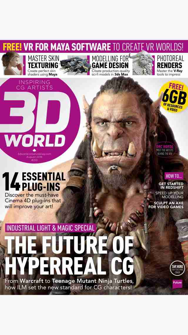 3D World: the CG magazine for animation, VFX and games artistsのスクリーンショット - 26