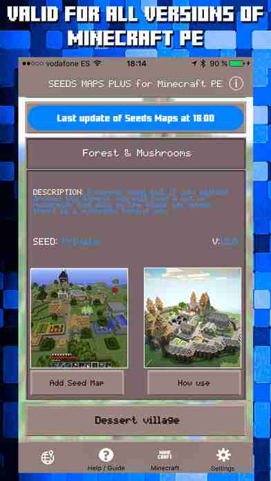 Seeds for Minecraft PE Free Seeds for Pocket Editionのスクリーンショット - 7