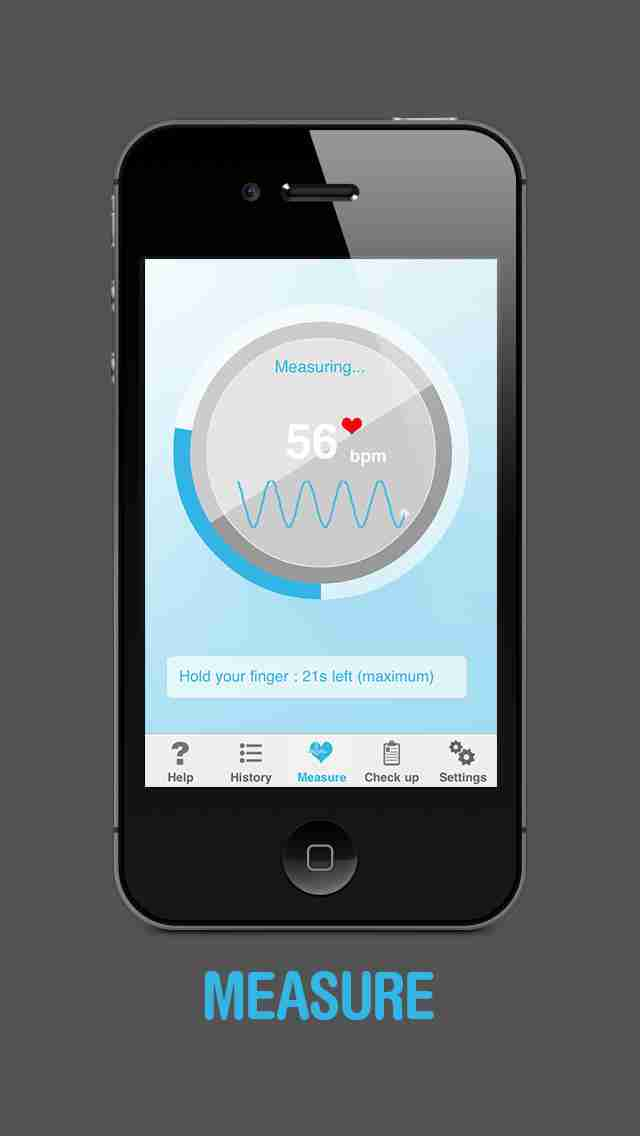Heart Beat Rate Pro - Heart rate monitorのスクリーンショット - 4