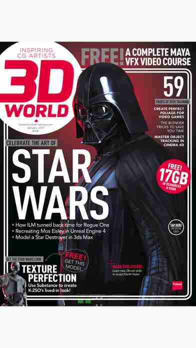 3D World: the CG magazine for animation, VFX and games artistsのスクリーンショット - 29