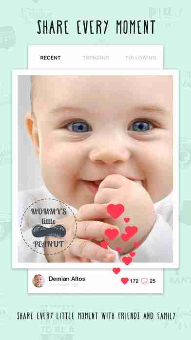 Giggly: baby photo milestones & pregnancy week by week development countdown pics editorのスクリーンショット - 25