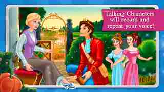 Cinderella Fairy Tale Dress Up and Storybook HDのスクリーンショット - 6