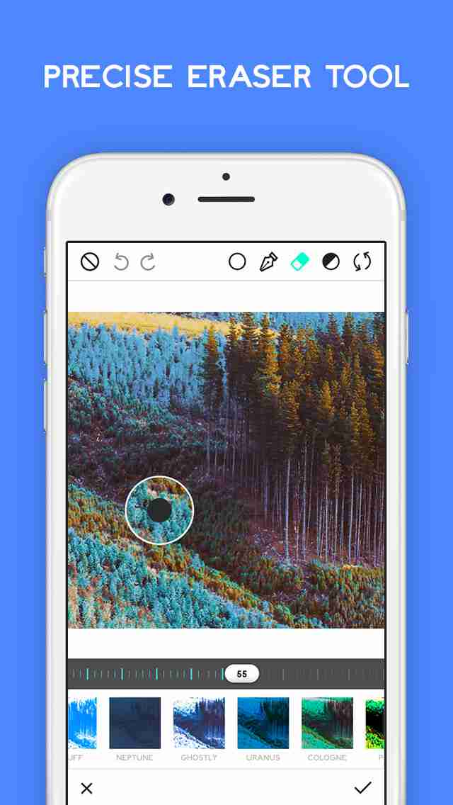 Ultrapop - Collection of Artistic Color Filters and Shapes for Contemporary Art Photo Editsのスクリーンショット - 6
