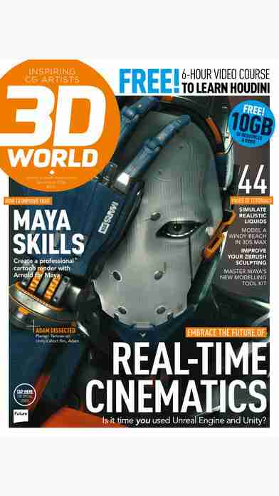 3D World: the CG magazine for animation, VFX and games artistsのスクリーンショット - 31