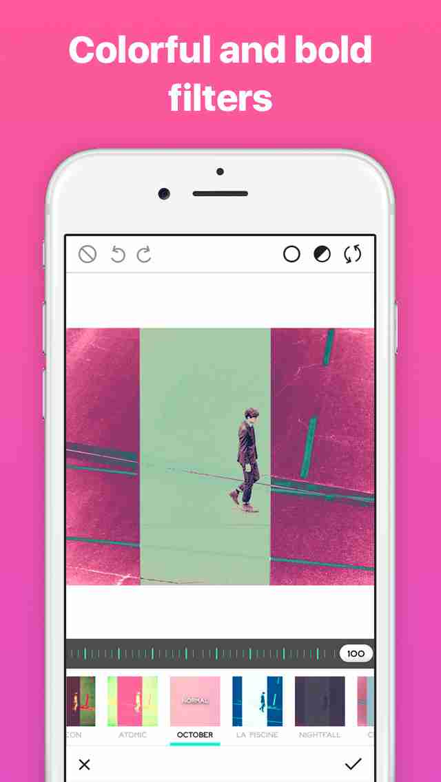 Ultrapop - Collection of Artistic Color Filters and Shapes for Contemporary Art Photo Editsのスクリーンショット - 7