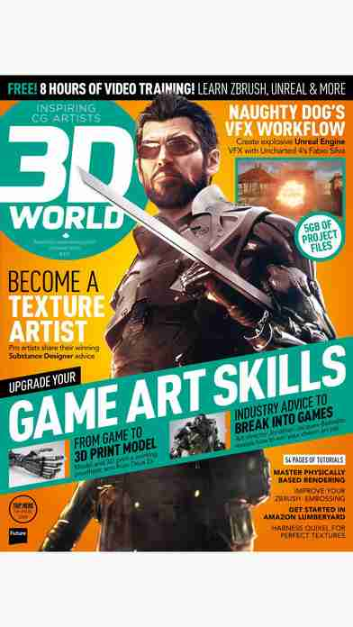 3D World: the CG magazine for animation, VFX and games artistsのスクリーンショット - 35
