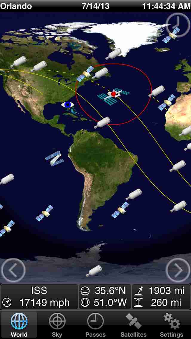 GoSatWatch - Satellite Trackingのスクリーンショット - 10