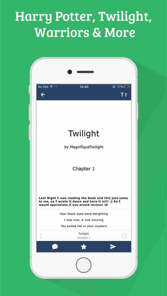 FanFiction Pro - 300,000+ books, ebooks and stories for fiction readersのスクリーンショット - 9