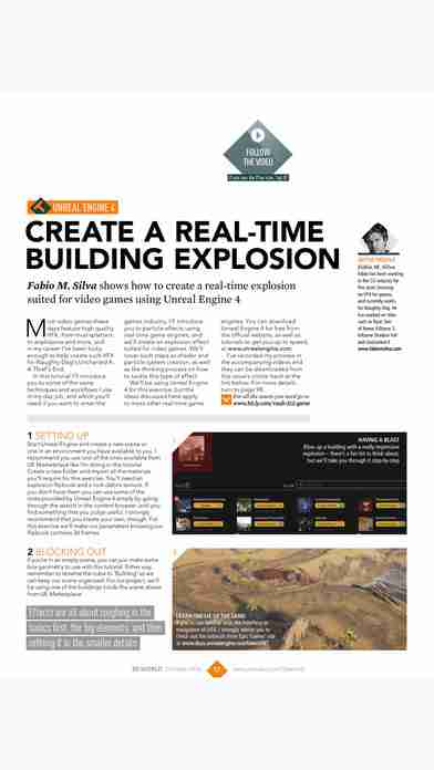 3D World: the CG magazine for animation, VFX and games artistsのスクリーンショット - 38