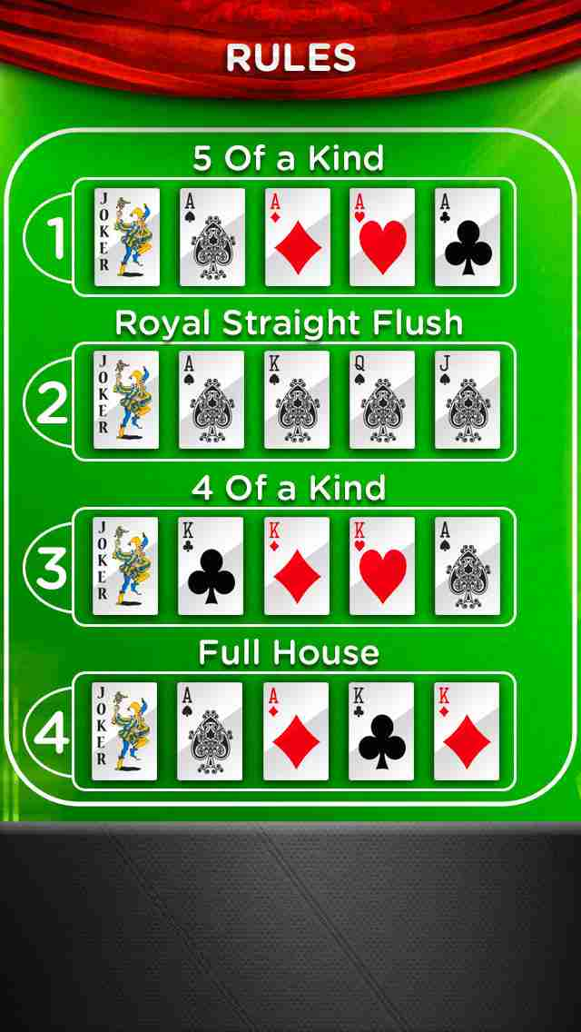 AAA Poker (カジノ ポーカー 無料ゲーム) – Play The Best Deluxe Casino Card Game Live With Friends (VIP Joker Poker Series & More!) for iPhone & iPod touch PLUS HD FREEのスクリーンショット - 4