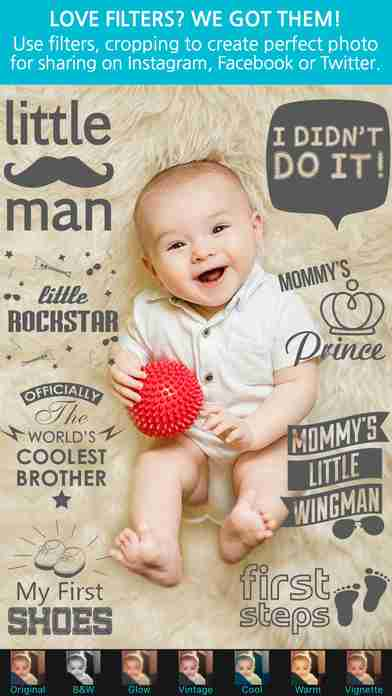 Giggly: baby photo milestones & pregnancy week by week development countdown pics editorのスクリーンショット - 26