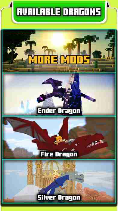 DRAGONS & DINOSAURS MODS GUIDE FOR MINECRAFT GAME PC EDITION - The Best Wikiのスクリーンショット - 5
