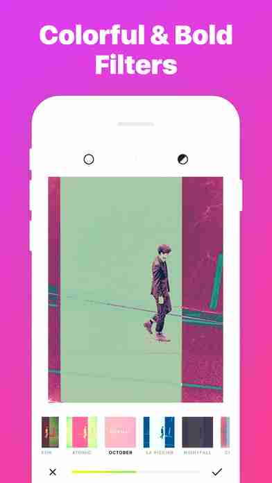 Ultrapop - Collection of Artistic Color Filters and Shapes for Contemporary Art Photo Editsのスクリーンショット - 10