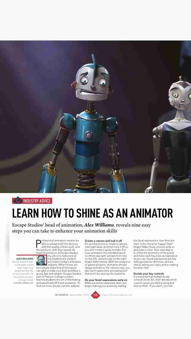 3D World: the CG magazine for animation, VFX and games artistsのスクリーンショット - 40