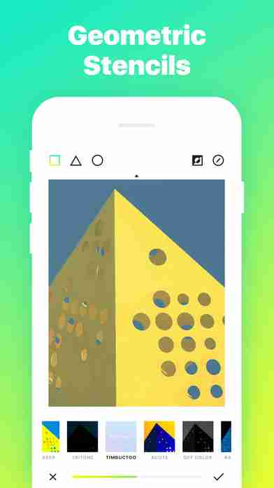Ultrapop - Collection of Artistic Color Filters and Shapes for Contemporary Art Photo Editsのスクリーンショット - 11