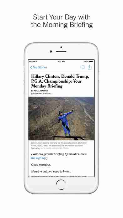 NYTimes – Breaking Local, National & World Newsのスクリーンショット - 8
