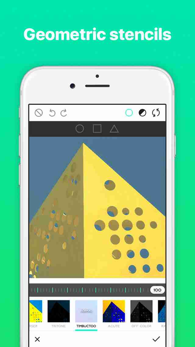 Ultrapop - Collection of Artistic Color Filters and Shapes for Contemporary Art Photo Editsのスクリーンショット - 12